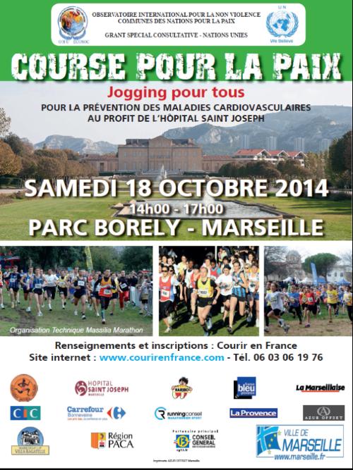 course pour la paix 2014