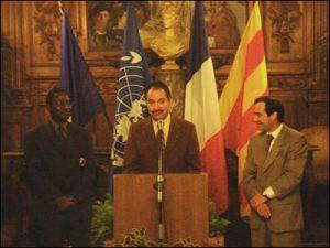 Célébration de la Journée des Nations Unies en Arles (2001)